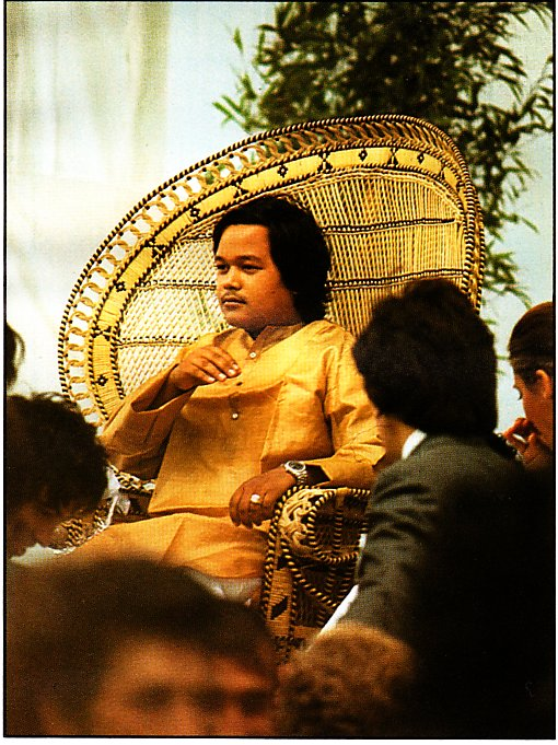 Prem Rawat (Maharaji) Giving Holy Breath, Copenhagen