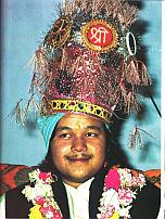 Prem Rawat's Wedding Crown