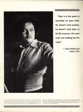 Prem Rawat, the Lord of Creation