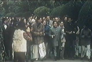 Young Prem Rawat with followers