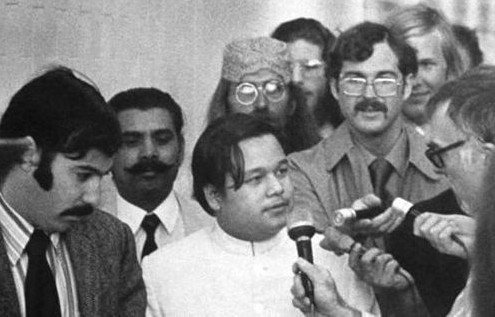 Prem Rawat Arrives in Los Angeles 1971