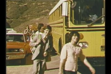 Premies Arriving at Prem Rawat's Birthday Party 1976