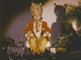 Prem Rawat (Maharaji) On Stage Dressed As Krishna 1976