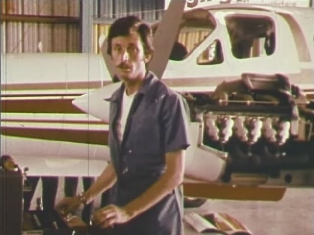 Brian Kitt aka Mahatma Saphlanand as Pilot/Mechanic in Who Is Guru Maharaj Ji?